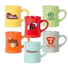 Diner Mug 10oz Colors