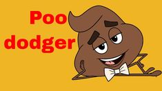 Today, I am playing poo dodger! You have to dodge poo! This is almost as weird as doodie m. Dodgers, Scooby Doo, Fictional Characters, Fantasy Characters