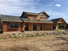 Estas son algunas de las mejores constructoras al norte del… Log Homes, House Design, Country, House Styles, Spa, Chile, Home Decor, Log Cabins, Houses