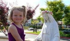 Try explaining the connection between Mary and the month of May. This will help.  Catholic by Grace column, U.S. diocesan newspapers, May 2014.