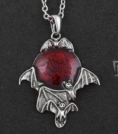 Twilight Blood Moon Bat Necklace FREE SHIPPING    $18.00