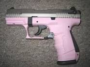Buy a Pink Handgun and become as comfortable with shooting it as I'm as comfortable using my cell phone.