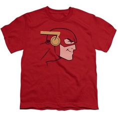The Flash Ready For Action Red Youth Tshirt