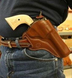 Gun Leather, Concealment and Cowboy holsters, Azle, TX.-SR