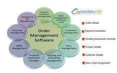SalesBabu #CRM Sales #OrderManagement #Software allows sales people to convert positive opportunities to sales orders without re-entering pricing and discount information. Customer service can easily locate customer orders to verify the delivery status. Order fulfillment personnel can associate tasks and activity history with each order. http://www.salesbabu.com/crm/sales-order-management-software/   #startupbusiness #startup #smallbusiness #entrepreneur #salesforceautomation
