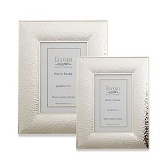 The Eccolo Hammered Picture Frame is ideal for displaying your favorite picture. Features a hand polished silver plated border that is guaranteed tarnish resistant.