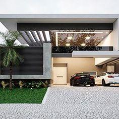 • Residência Bezerra • Local: Condomínio Damha II Campo Grande | MS • Autor do projeto: Arq. Dálber Agüero. • Área do terreno: 455,87m2 • Área construída: 227,25m2 • Contato: +55 67 999418550 @dalberaguero.arquiteto