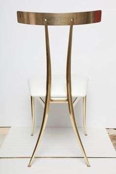 Brass Dining Room Chairs
