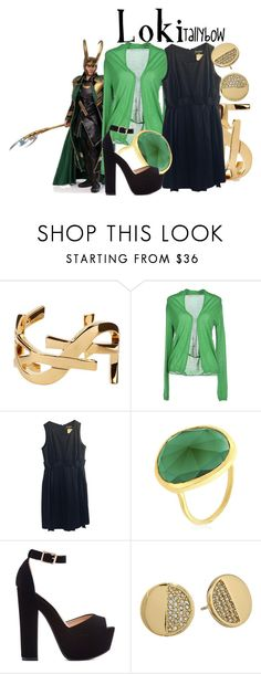 """Loki"" by tallybow ❤ liked on Polyvore featuring Yves Saint Laurent, jucca, Chanel, Monica Vinader and Kate Spade"