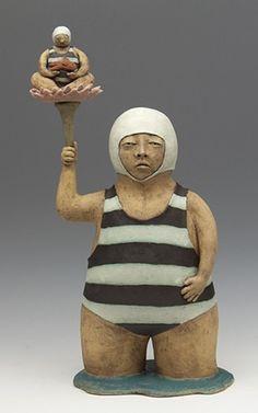 Sara Swink | clay sculpture