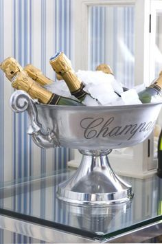 a bucket of CHAMPAGNE, not bad!