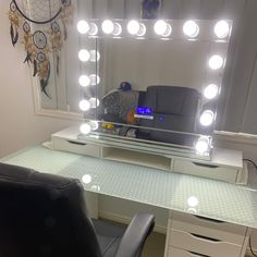 Our Premium Bluetooth Hollywood Mirror styled beautifully by Brittany🥰 Hollywood Mirror, Bluetooth, Vanity, Instagram Posts, Furniture, Home Decor, Style, Dressing Tables, Swag