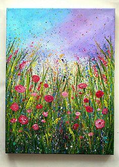 Acrylic Painting Abstract Acrylic Acrylic Paint Cracking Acrylic Paint Finish Acrylic Paint For Miniatures Acrylic Paint Gloss Finish Acrylic Paint On Body - Acrylmalerei Abstrakt Acryl Acrylfarbe Cracking Acrylfarbe – thepaintart - Acrylic Painting Flowers, Acrylic Painting For Beginners, Simple Acrylic Paintings, Oil Painting Abstract, Abstract Print, Simple Flower Painting, Body Painting, Flower Paintings On Canvas, Floral Paintings