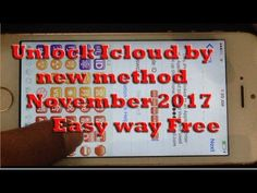 How to Unlock Icloud by new method November 2017 Easy way | How to unloc...
