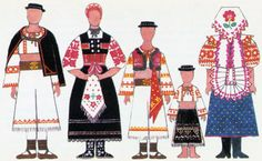 Folk Costume, Costumes, Folk Clothing, Doll Patterns, Paper Dolls, Doll Clothes, Regional, Vaseline, Education