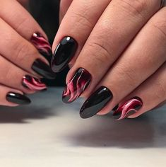 65 Winter Nail Designs for the Christmas – Page 59 of 77 – Soflyme – Nail Art Ideas 2020 Marble Acrylic Nails, Acrylic Nail Designs, Nail Art Designs, Nails Design, Fabulous Nails, Gorgeous Nails, Pretty Nails, Nagellack Design, Cat Eye Nails