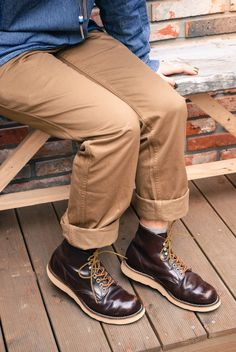 Red Wing Shoes Korea Daily Coordination