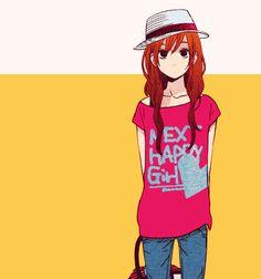 http://myanimelife.com #myanimelife tonari no kaibutsu-kun: Love this look