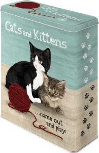 Cats & Kittens peltipurkki XL 14,90€