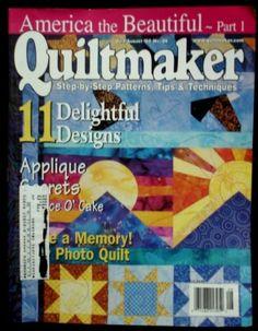Quiltmaker magazine #86 2002 July
