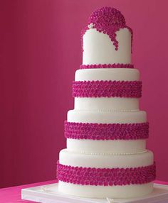 Brides: The 50 Most Beautiful Wedding Cakes :