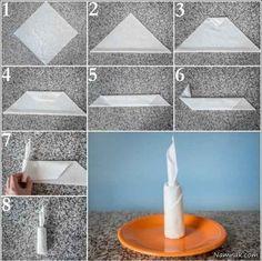 دستمال سفره table napkin