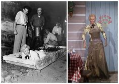 Calamity Jane: Doris Day In the movie, Calam falls into a muddy stream....how they got her full of mud on the set