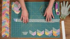 How to Start a Quilting Braid