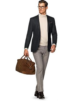 Jacket Grey Plain Hudson C994i | Suitsupply Online Store