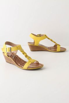 Full Plait Sandals - Yellow!