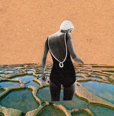 Hand made collage by Claudia Manenti