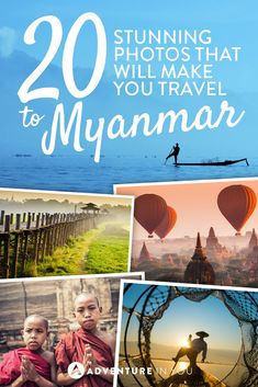 Myanmar | Check out these 20 stunning photos that will make you want to travel to Myanmar