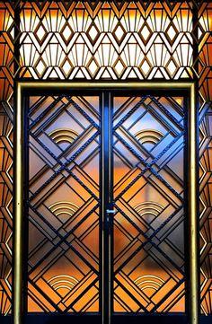 ideas villa main door window for 2019 Cool Doors, Unique Doors, Modern Entrance Door, Art Nouveau, Modern Fence Design, Art Deco Door, Window Grill Design, Villa, Wall Exterior