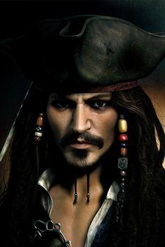 Jack Sparrow iPhone Wallpaper