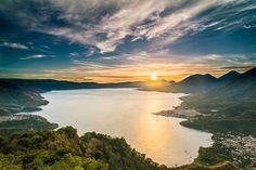 Atitlán Lake, Sololá, Guatemala.