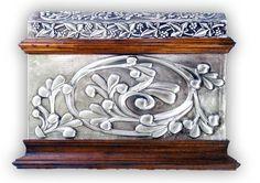ArteyMetal: Baúl Floral 4 - Frontal