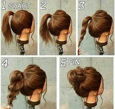 Cute And Easy Hairstyles 15 Cute And Easy Hairstyle Tutorials For Mediumlength Hair