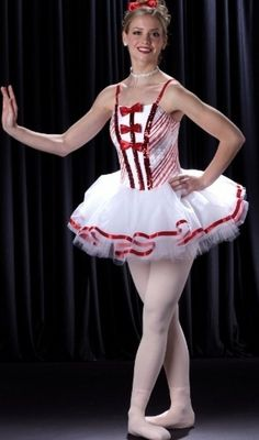 LAND OF SWEETS Christmas Ballet Tutu Candy Cane Dance Costume Child & Adult NEW #Cicci
