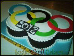 Olympic Rings Cake - Cake by Sheila Jimenez (Shey)