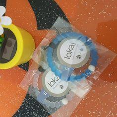 Bundle clear/blue lokai bracelet size M Brand new Lokai Jewelry Bracelets
