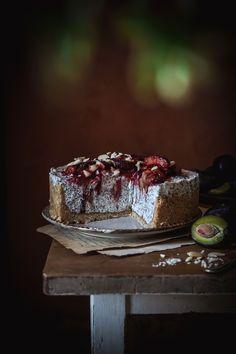 Nepečený Slivkovo Makový Cheesecake Cheesecake, Crinkles, Great Recipes, Steak, Food And Drink, Food Ideas, Cakes, Cake Makers, Cheesecakes