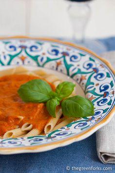 Pasta with Triple Tomato Sauce