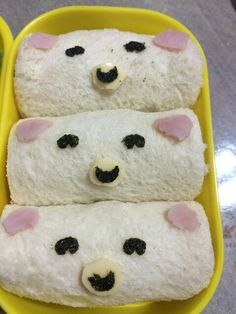 Bear roll bread