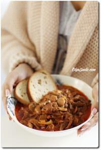 STROGONOW Z WOŁOWINĄ Chili, Food, Chile, Essen, Meals, Chilis, Yemek, Eten