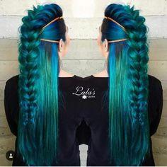 Wow! Mermaid hair                                                                                                                                                      More