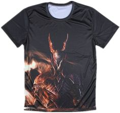 Men's T-shirt Dark Souls Movie Theme Casual Shirt