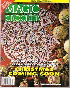 magic crochet magazine, number 104, october 1996