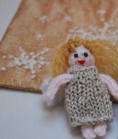 Christmas Fairy and Bag