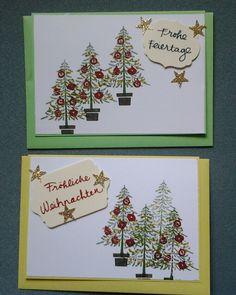Stampinup  Weihnachtsbäume - creativ by maro
