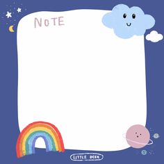 Cute Notes, Good Notes, Printable Stickers, Cute Stickers, Cute Backgrounds, Cute Wallpapers, Memo Notepad, Note Doodles, Note Memo